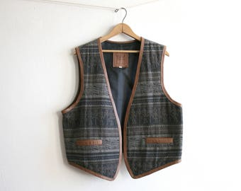Ecuador Wool Textile Vest