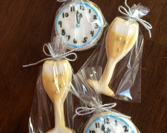New Year's Eve Cookies - perfect party cookies!