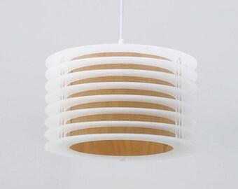 Nuage No. 1 - contura acrylic glas and wood veneer pendant light