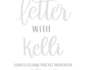 Handlettering Worksheets A-Z Instant Download/ Printable - PDF