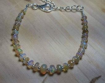 Bracelet welo Opal