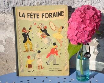 Vintage coloring book for kids - Children's coloring book - Vintage kid's book - French book - Animal coloring book - Colouring book