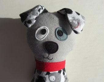 Dog Sewing Pattern - Scruffy the Stuffed Doggie PDF Sewing Pattern - Soft Dog Toy Puppy Wolf