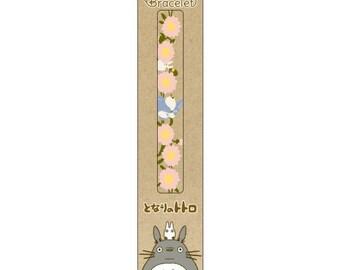 Lace Bracelet / My Neighbor Totoro Studio Ghibli / Totoro and Fleabane