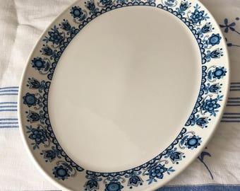 Johnson Brothers platter from the Snowhite range