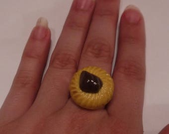 Adjustable cake ring