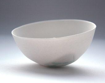 Small vase. Decorative stoneware English fine bone china small bowl with a unique texture.