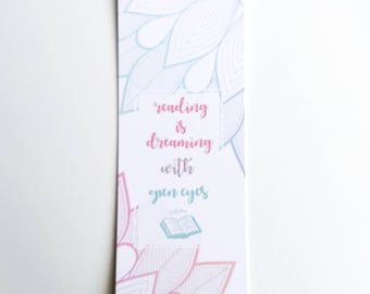 Bookmark ' Reading with Open Eyes '