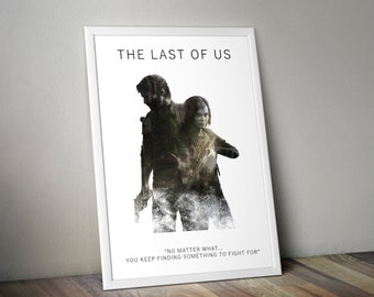 The Last Of Us A3 Game Art Print