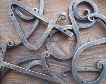 House Number / house address / Metal House Numbers 5 inch/ Address numbers /Metal house number/ Address numbers / home address /Rustic decor