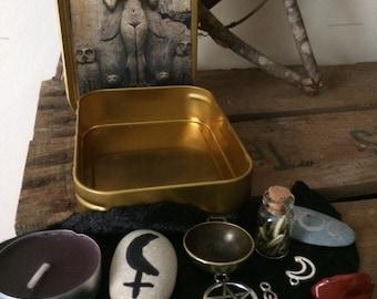 Lilith Witch Box, Goddess, Altar, Wicca, Shrine