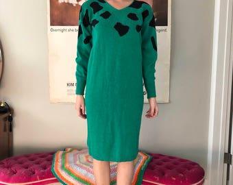 Vintage 80's John Richard Sweater Dress