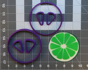 Lime 266-556 Cookie Cutter Set