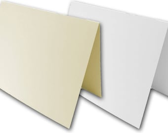 Blank Cougar 5x7 Folded Cards - 50 pack