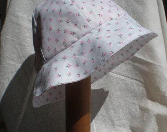 Pink Rose Bucket Hat (medium)
