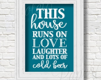 This house runs of love, laughter and lots of cold beer | Digital File