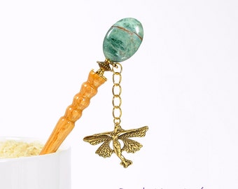 "Fairy Hair Stick Charm Hairstick Geisha Hair Pin Fairy Hair Pin Hair Charm Hair Ornament - ""Enchantment"""