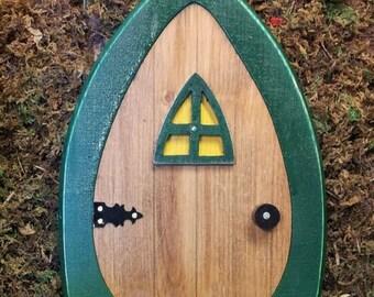 Faerie Doors Fairy Doors Gnome doors Elf Doors Hobbit Doors 9 inch with leafy green frame. & Faerie door | Etsy