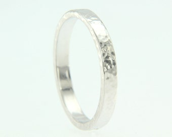 Silver textured pattern craft 925.000 band ring