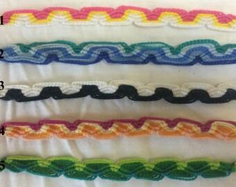 Colorful Looping Friendship Bracelet