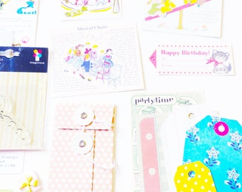 Vintage Party Papercrafting Kit
