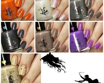 FULL SIZE Book 3 Collection - Harry Potter Inspired custom nail polish