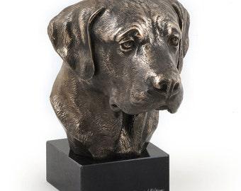 Labrador Retriever, dog marble statue, limited edition, ArtDog