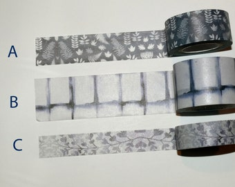 Washi Tape Samples, Washi Tape Sample, Neutral Washi Tape Sample, Planner Accessories, Scrapbook Supplies, Craft Supplies, Craft Supplies
