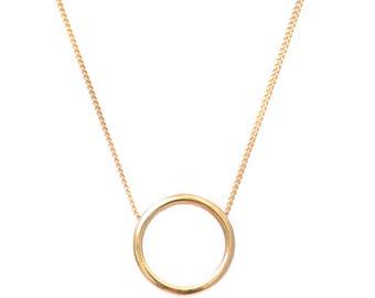 Halo Necklace - Gold Vermeil