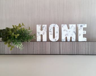 Gentil Scented Free Standing Letters, Soy Wax Decorative Letters With Dried  Flowers, Air Fresheners,