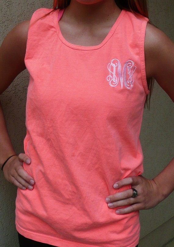 kelli more colors top boutique comfort monogrammed chambray tops shop tank il s tanks comforter