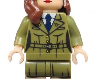Agent Peggy Carter Custom LEGO