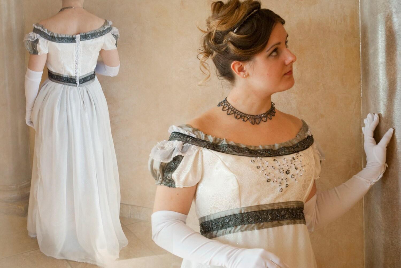 CUSTOM Elegant Princess Bridal Ball Regency Gown With