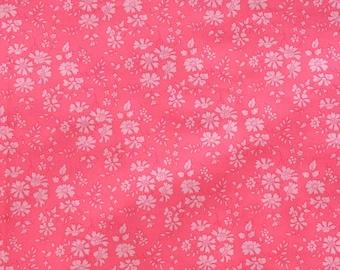 Liberty fabric Tana Lawn Capel 5''x10'' piece Coral