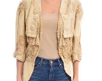 Edwardian Lace Top Size: M