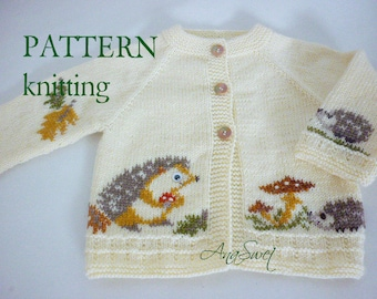 Knitting pattern The Hedgehogs P059