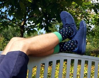 Mens socks, casual socks, cool socks, funny socks, patterned socks, colorful socks, high quality cotton socks, gift for men, happy socks