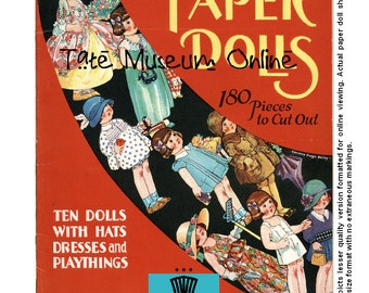 Paper Doll_10 Paper Dolls to Dress_Corrinne Bailey_Digital Download_Collage Sheets_Paper Art Dolls + BONUS Booklet