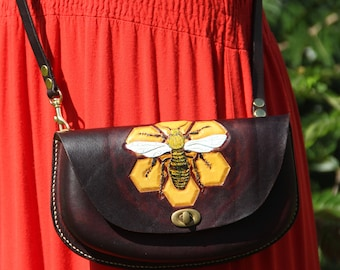 For the Love of Bees - Robin Crossbody Purse