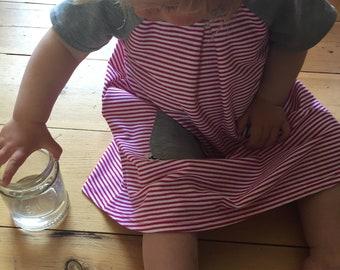 summer dress, girls dress, organic cotton dress