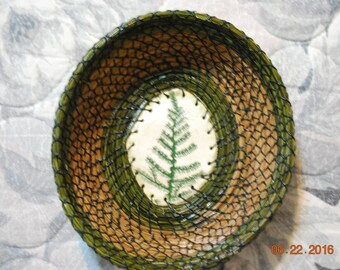 "Pine Needle Basket ""Fernglen"""
