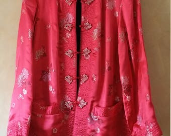 Vintage Chinese Jacket for a woman 12/14 (reversible)