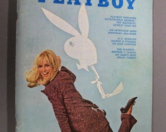 Playboy Magazine March 1969,  Vargas Girl