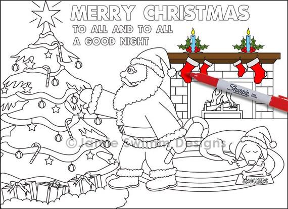 Großzügig Santa Claus Druckbare Malvorlagen Zeitgenössisch - Entry ...