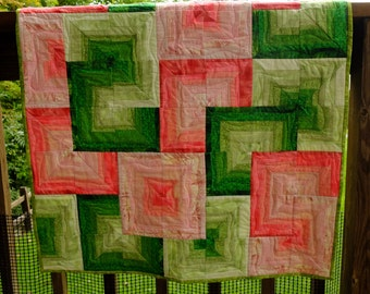 Sliced Watermelon Quilt by Made Marion