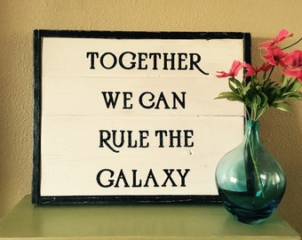 Star Wars-Star Wars Love-Geek Love-Nerd Love-Galaxy-Love-Star Wars Fanatic-15.5x19.5""