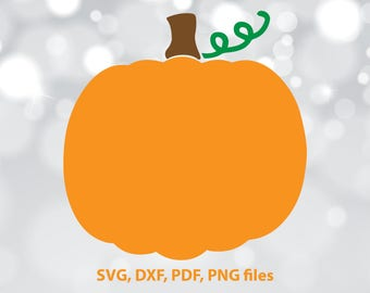 Pumpkin SVG File, Pumpkin DXF, Pumpkin Cut File, Pumpkin PNG, Pumpkin Cricut, Pumpkin Silhouette, Pumpkin Vector art, Pumpkin Cutting file