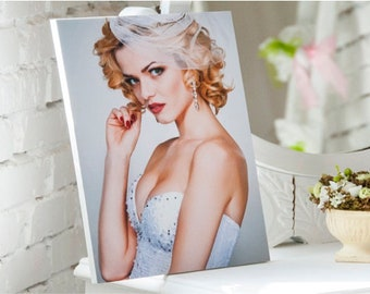 Personalised Plastic Photo Panel / Frame With Your Own Picture / Photo. Custom Decor. Unusual Gift. Free International Shipping.