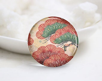 10mm 12mm 14mm 16mm 18mm 20mm 25mm 30mm Handmade Round Photo Glass Cabochons Domes-Japanese Series (P2279)