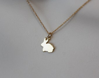 Bunny Cute Necklace, Birthday Gift for Wife, for Sister, for Girlfriend, for Daughter, Granddaughter, for Niece, Baby Shower, Gift for kids
